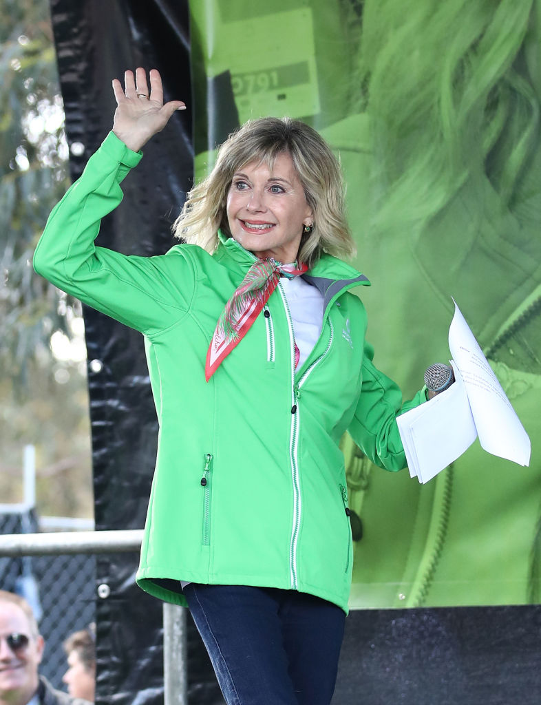 Olivia Newton-John is reportedly recovering from cancer