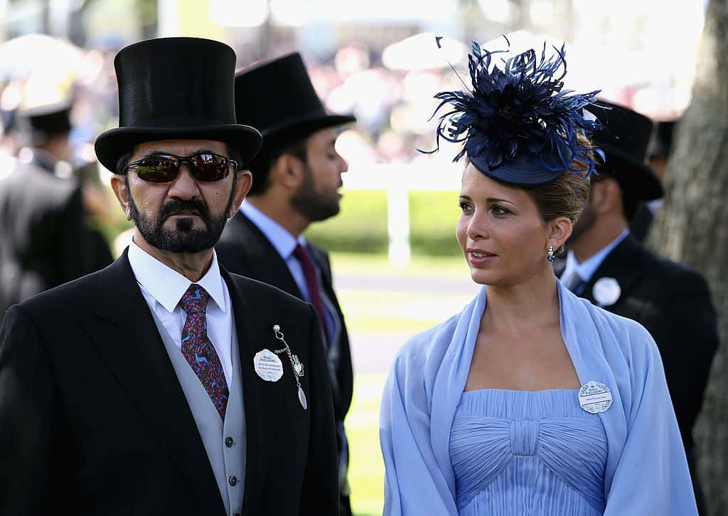 Dubai ruler allegedly caught his estranged wife in bed with
