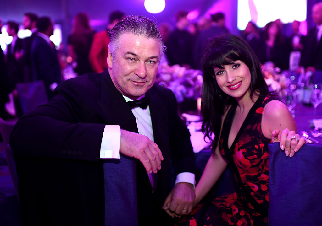 Alec Baldwin and Hilaria Baldwin (Photo by Dimitrios Kambouris/Getty Images)