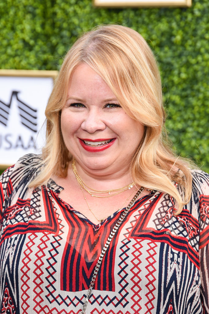 Julie Plec attends The CW Network's Fall Launch Event - Arrivals at Warner Bros. Studios on October 14, 2018, in Burbank, California. (Photo by Presley Ann/Getty Images)