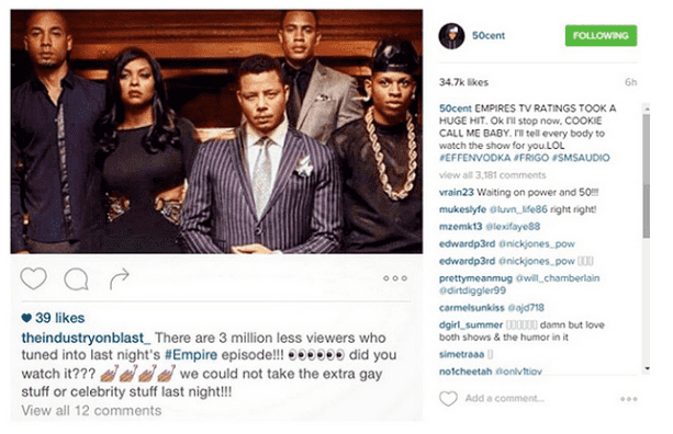 50 Cent is transphobic and his latest comments about Young