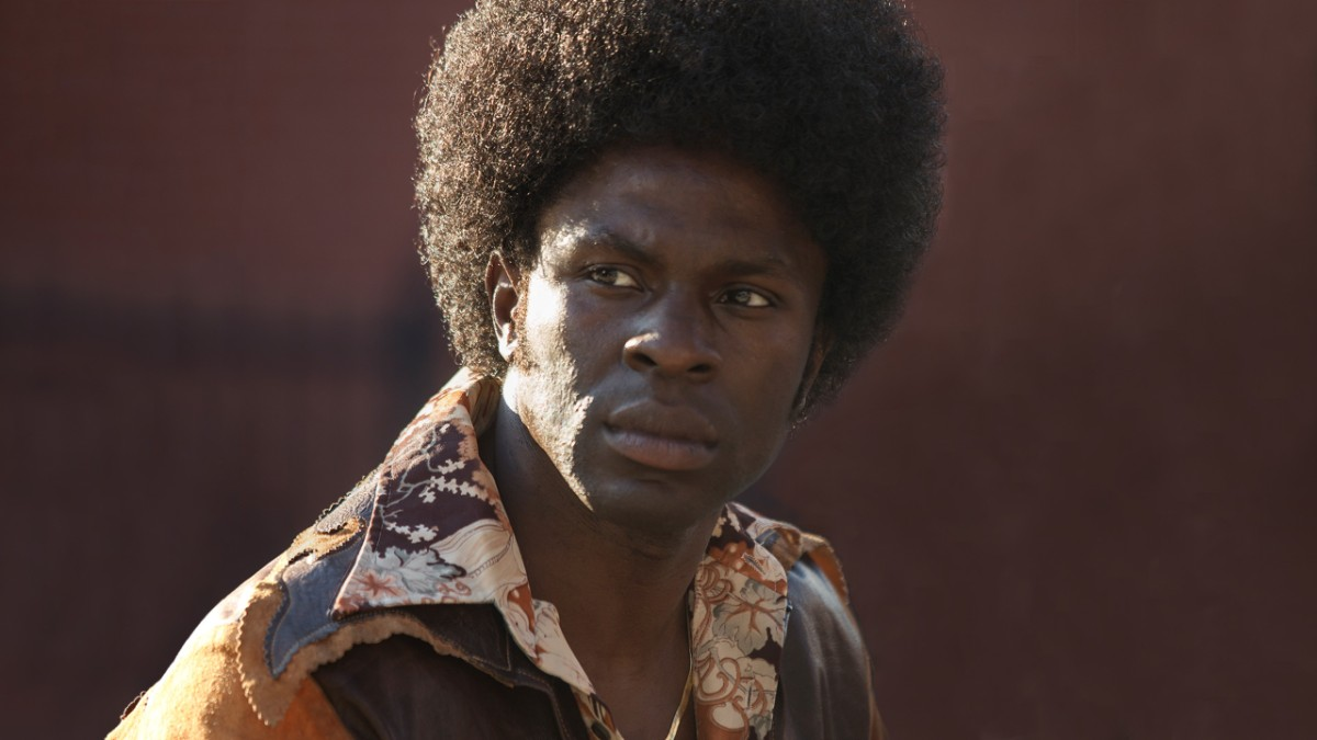 Larry Brown portrayed by Gbenga Akinnagbe in 'The Deuce' (HBO)