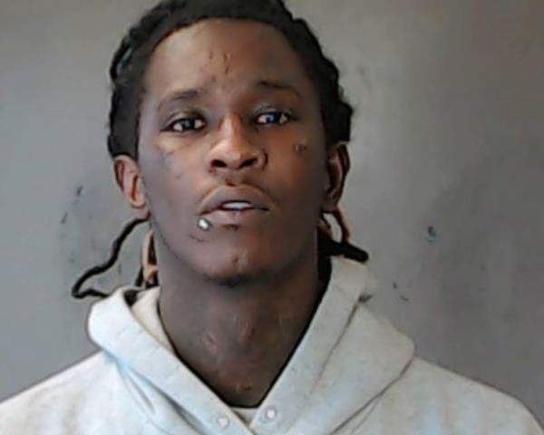 In this handout photo provided by the DeKalb County Sheriffs Office, rapper Jeffery Lamar Williams, aka Young Thug, is seen in a police booking photo after turning himself in for outstanding drug and firearm charges September 13, 2018 in Decatur, Georgia. The charges stem from a traffic stop last year where police allegedly found drugs and a gun.