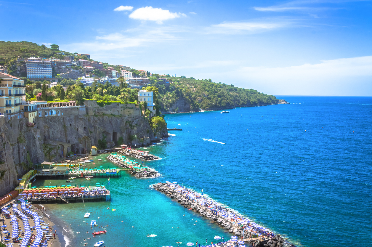 The coastline of Sorrento, Italy (Source: iStock by Getty Images)