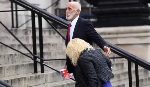 Avril and Peter Griffiths pleaded not guilty to the numerous charges leveled against them (Source: YouTube)