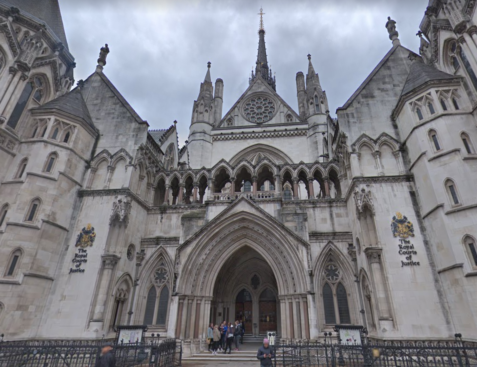 The Family Division of the Court of Appeals in London (Source: Google Maps)