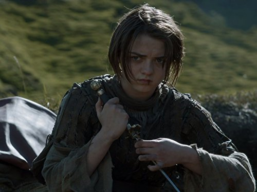 Arya Stark (Maisie Williams) in 'Game of Thrones'. (Source: IMDB)