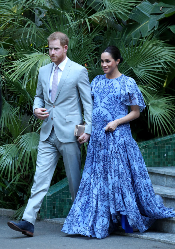 Prince Harry, Duke of Sussex and Meghan, Duchess of Sussex leave the residence of King Mohammed VI of Morocco, after an audience in Rabat on February 25, 2019, in Rabat, Morocco (Source: Yui Mok - Pool / Getty Images)