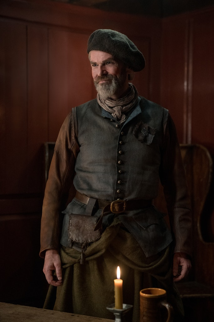 Duncan Lacroix (Murtagh) - Outlander Episode 405