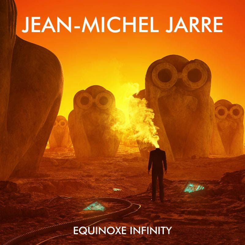 Alternate album art for Jean-Michel Jarre's 'Equinoxe Infinity'