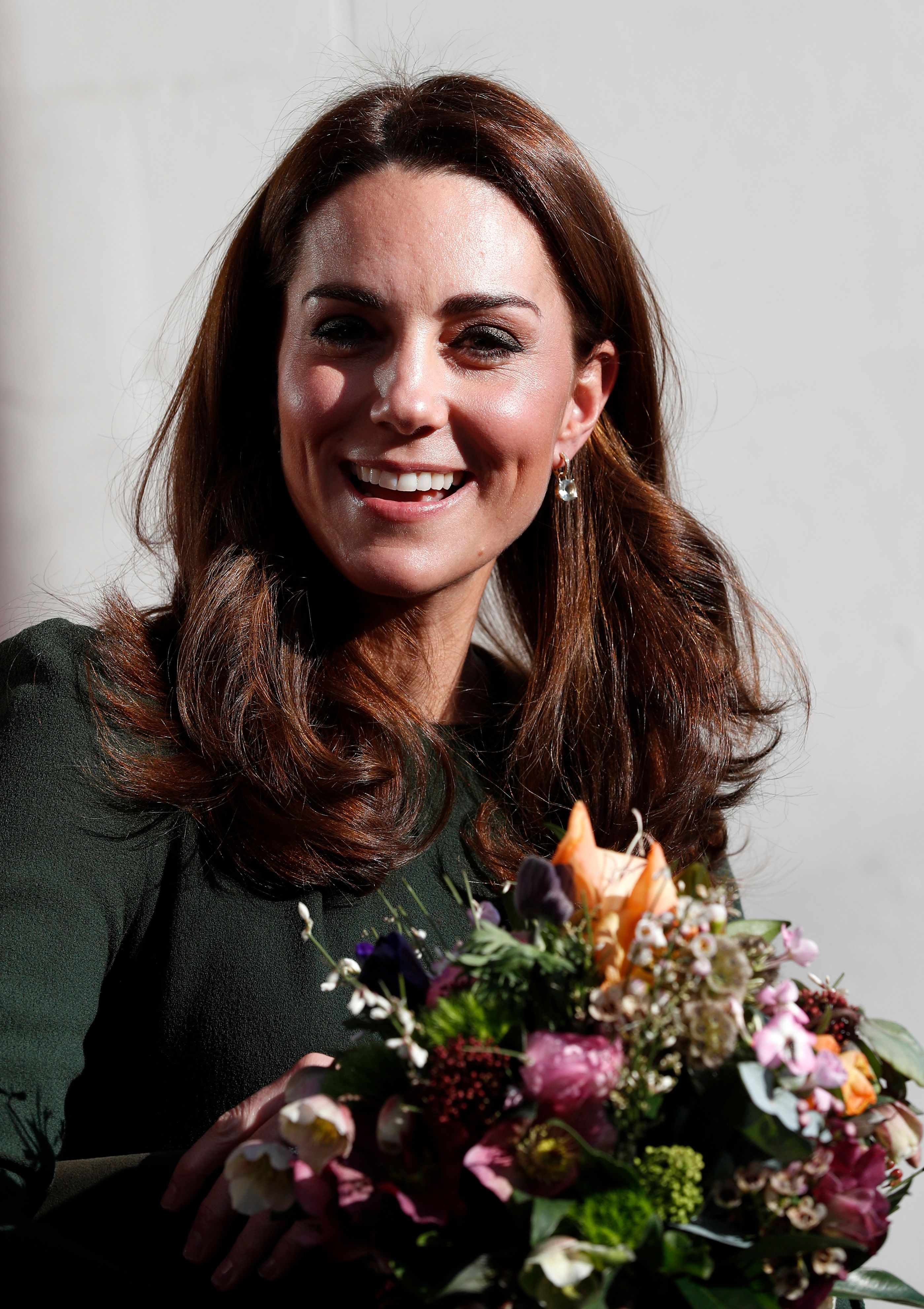 Kate Middleton wows in flowing green belted outfit from