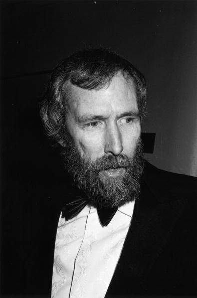 Jim Henson (1936 - 1990), the creator of the muppets at the Bafta awards at the Grosvenor Hotel, London. (Photo by John Gooch/Keystone/Getty Images)