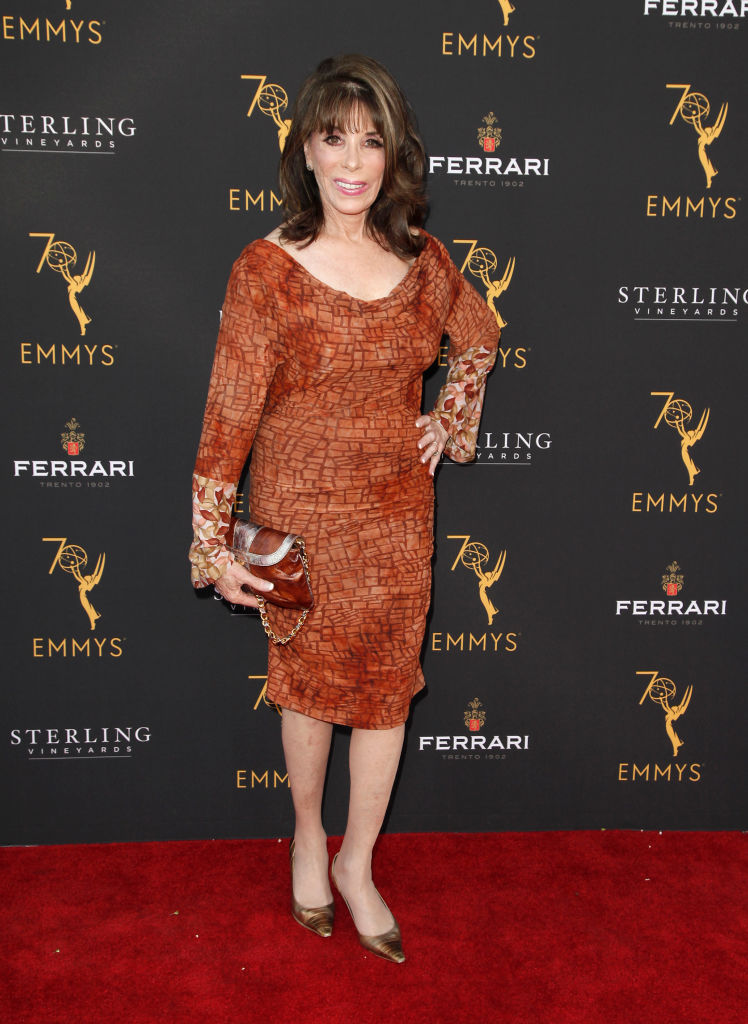 Kate Linder attends the Television Academy's Daytime Programming Peer Group Reception at Saban Media Center on August 22, 2018, in North Hollywood, California. (Getty Images)