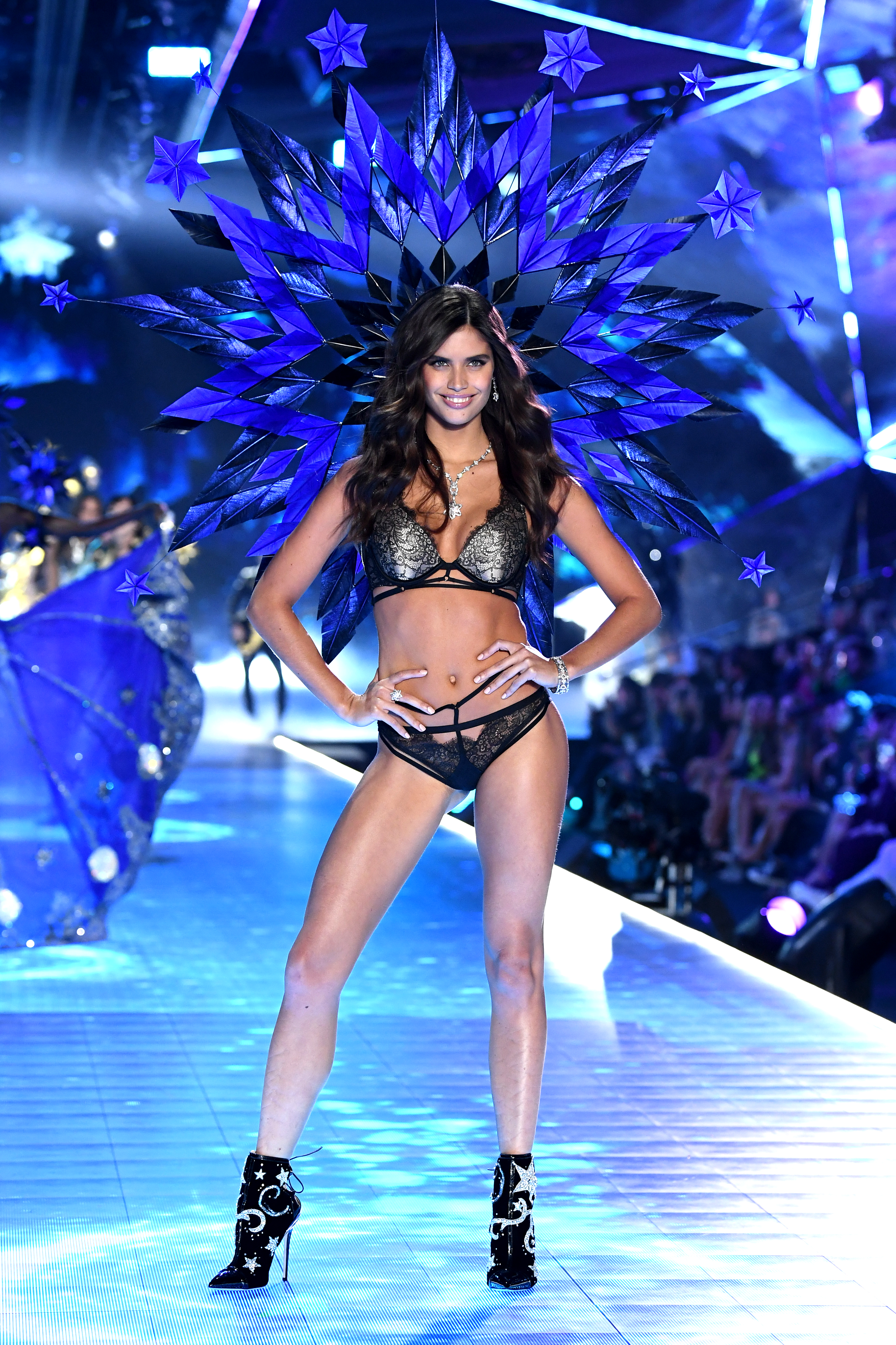 Sara Sampaio walks the runway during the 2018 Victoria's Secret Fashion Show at Pier 94 on November 8, 2018, in New York City. (Getty Images)