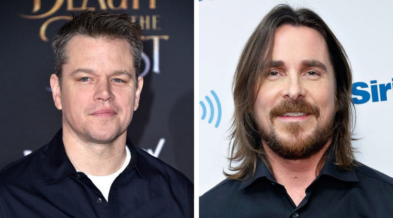Matt Damon and Christian Bale (Source: Getty Images)