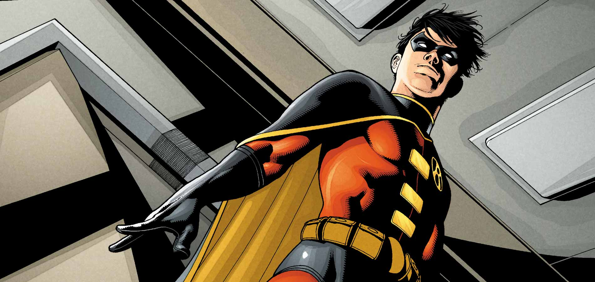 Tim Drake as the third Robin. Source: DC Comics