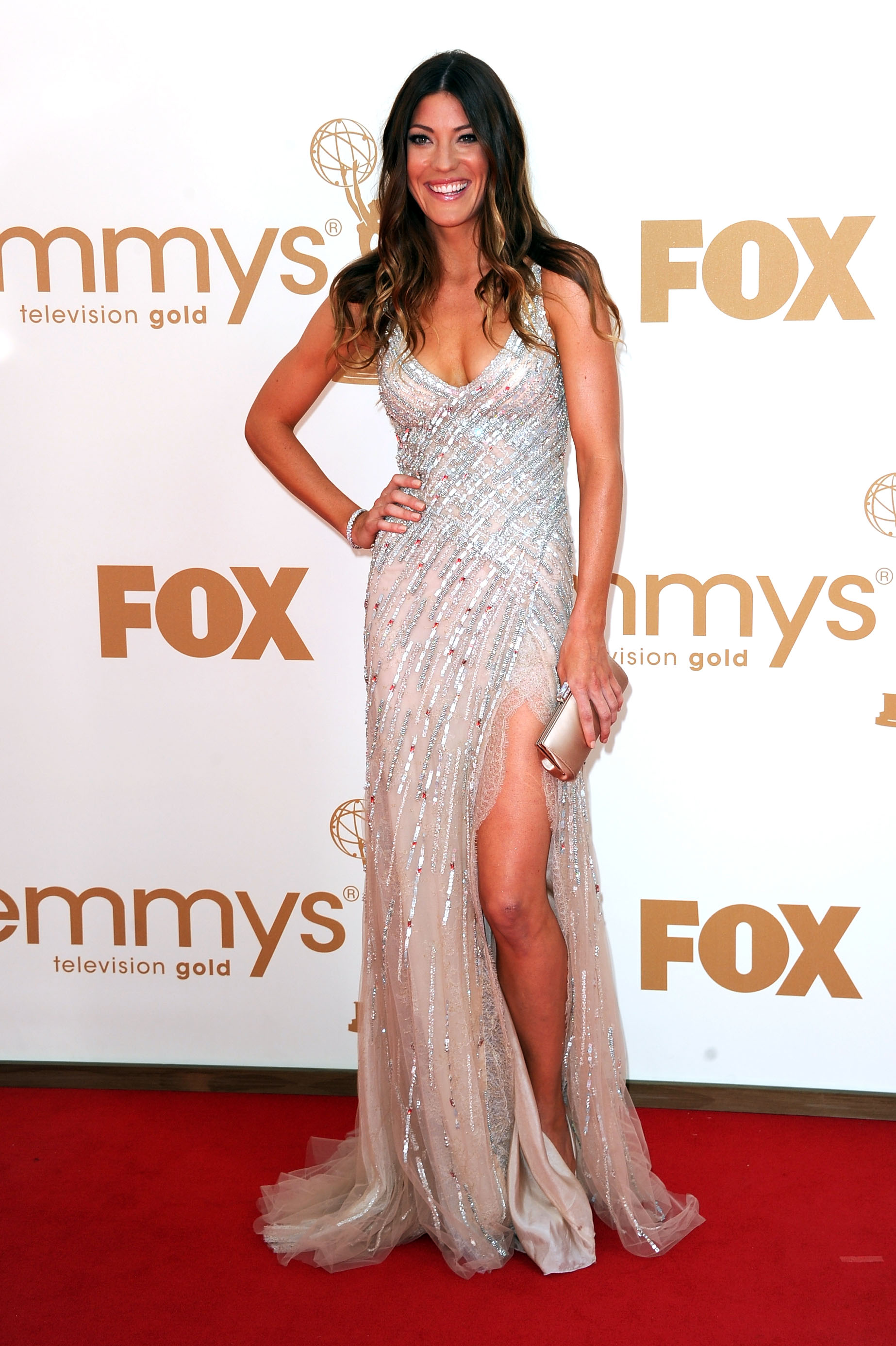 Actress Jennifer Carpenter arrives at the 63rd Annual Primetime Emmy Awards held at Nokia Theatre L.A. LIVE on September 18, 2011, in Los Angeles, California. (Photo by Kevin Winter/Getty Images)