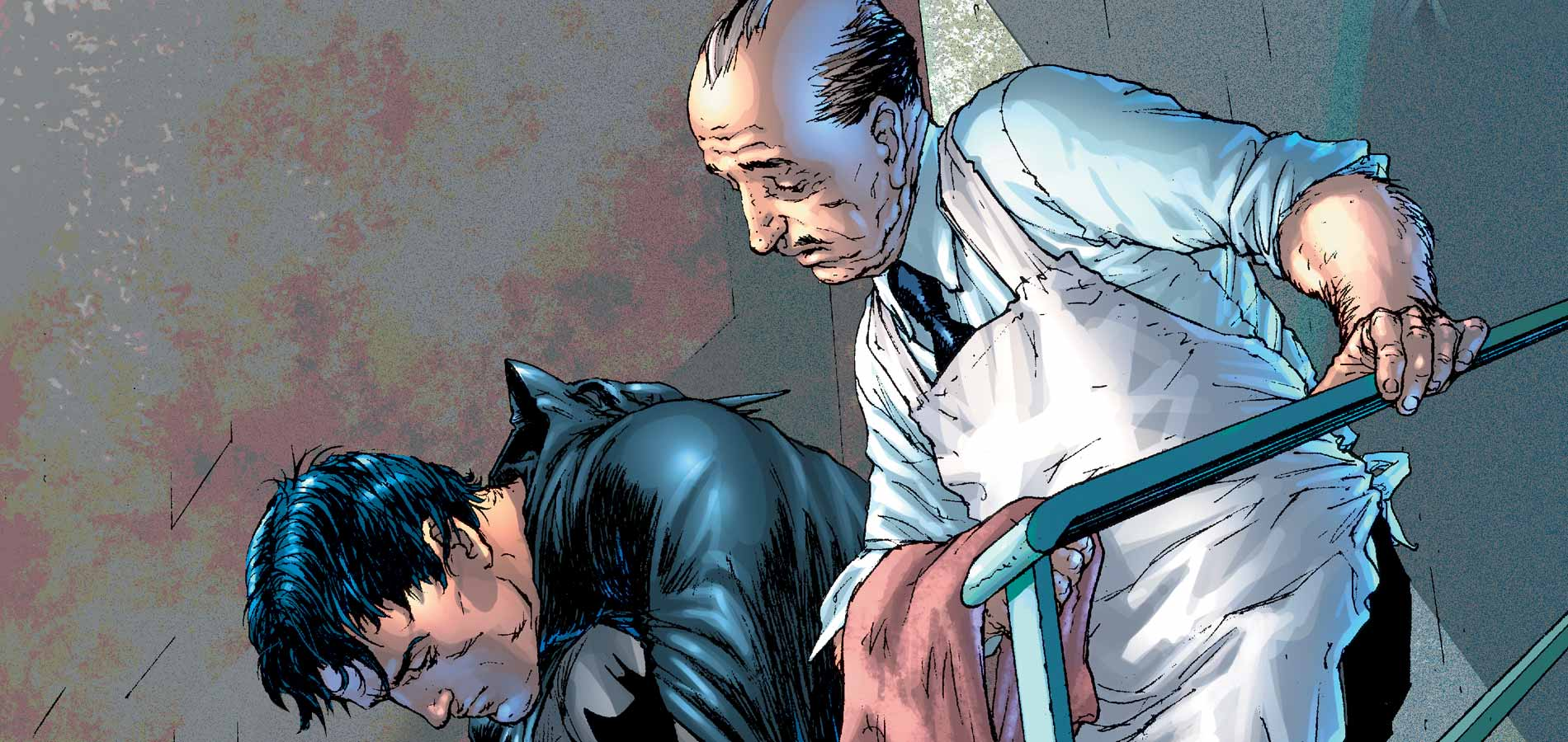 Bruce Wayne and Alfred Pennyworth. (Source: DC Comics)