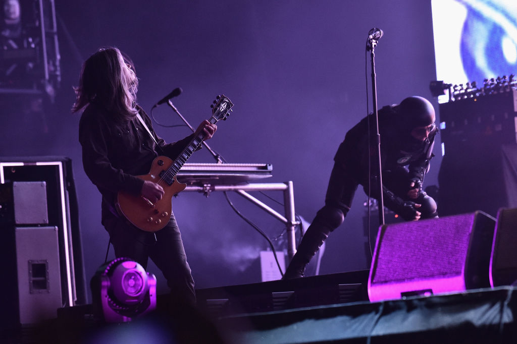 Adam Jones and Maynard Keenan of Tool (Source: Getty Images)