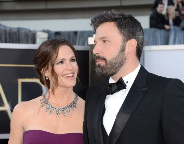 Affleck and Garner had announced their divorce in 2015, although they are still not divorced. (Getty Images)