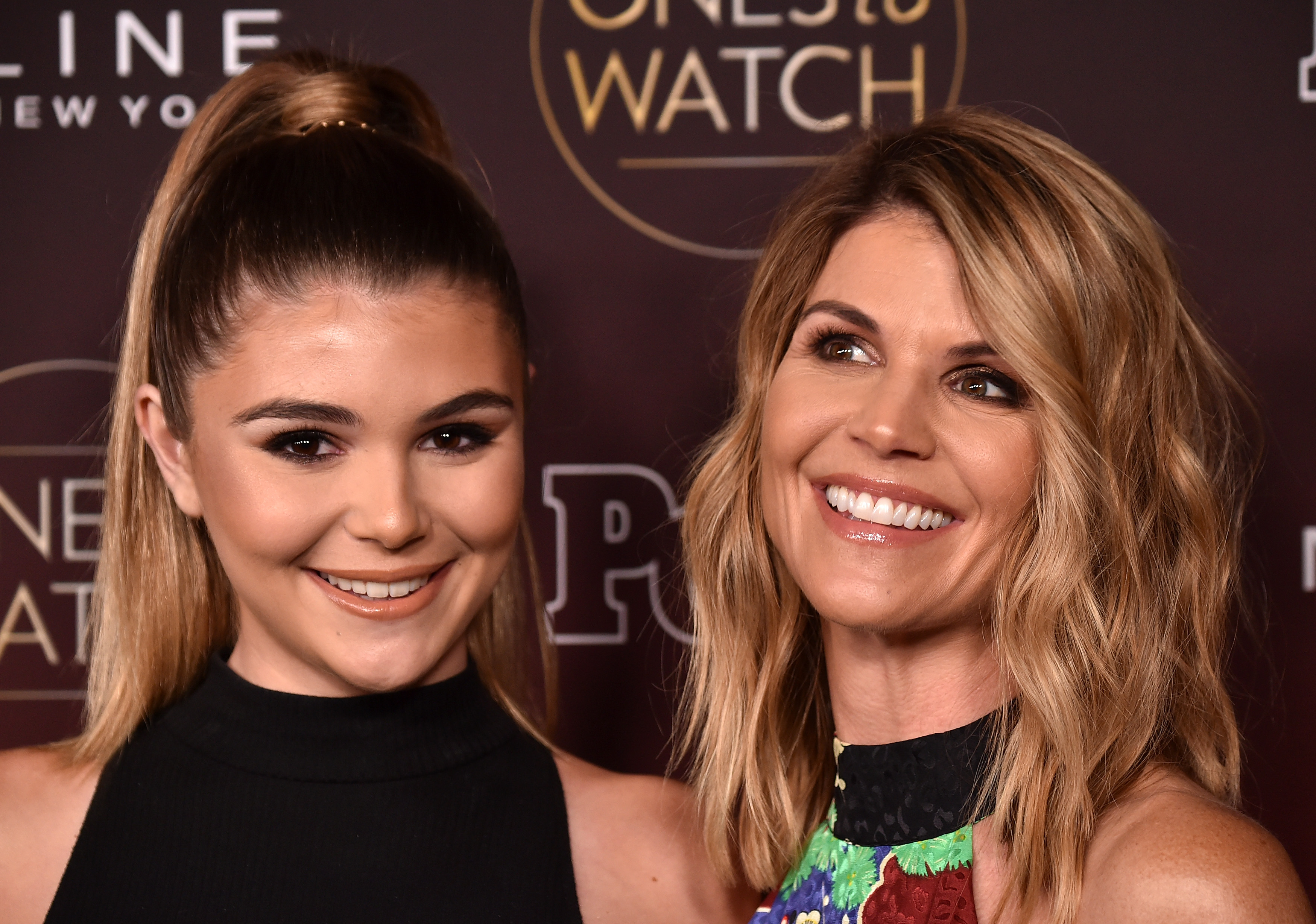 Olivia Jade and Lori Loughlin attend People's 'Ones To Watch' at NeueHouse Hollywood on October 4, 2017 in Los Angeles, California. (Getty Images)