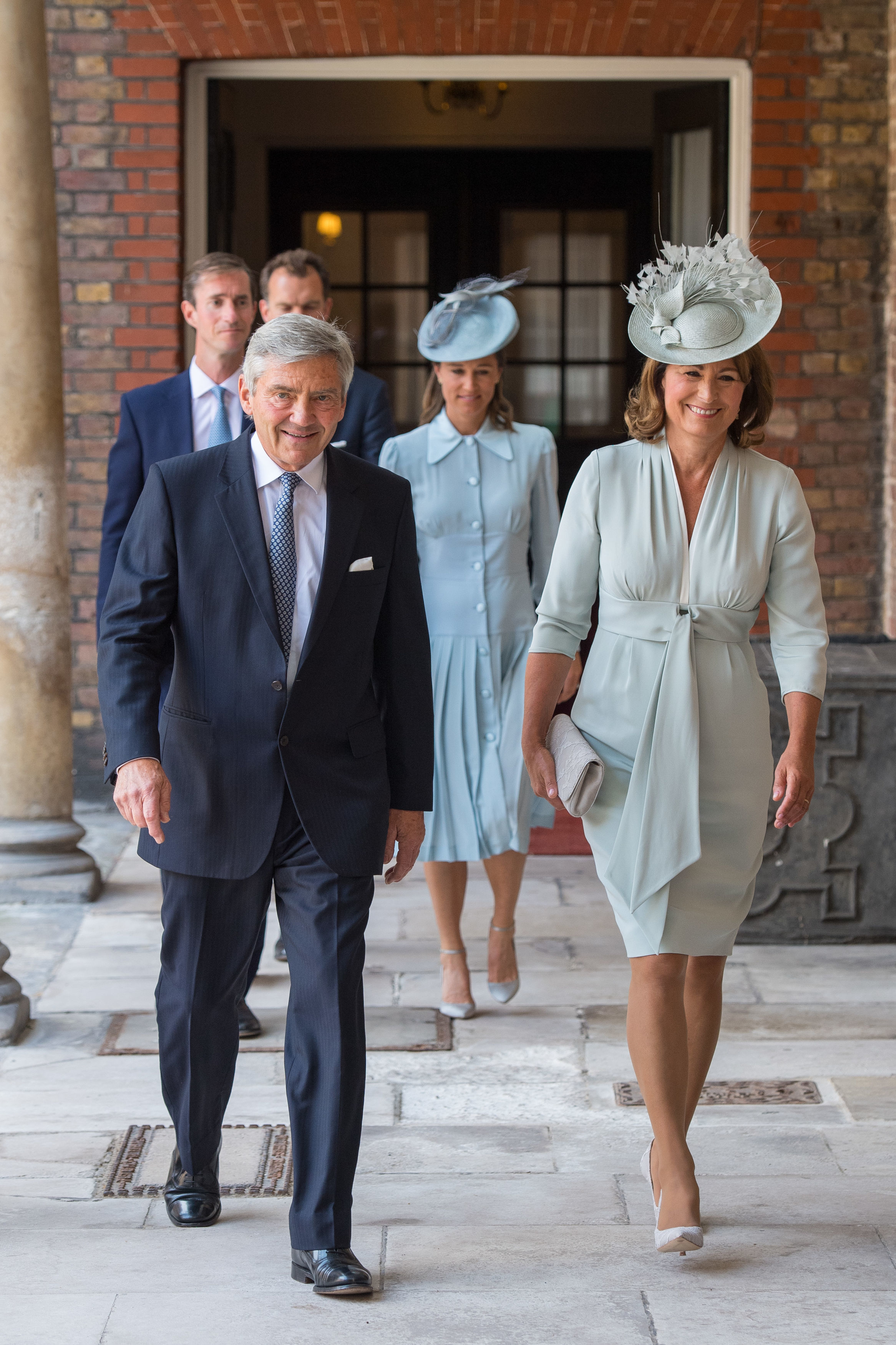 Michael Middleton and Carole Middleton, parents of the Duchess of Cambridge (Source: Getty Images)
