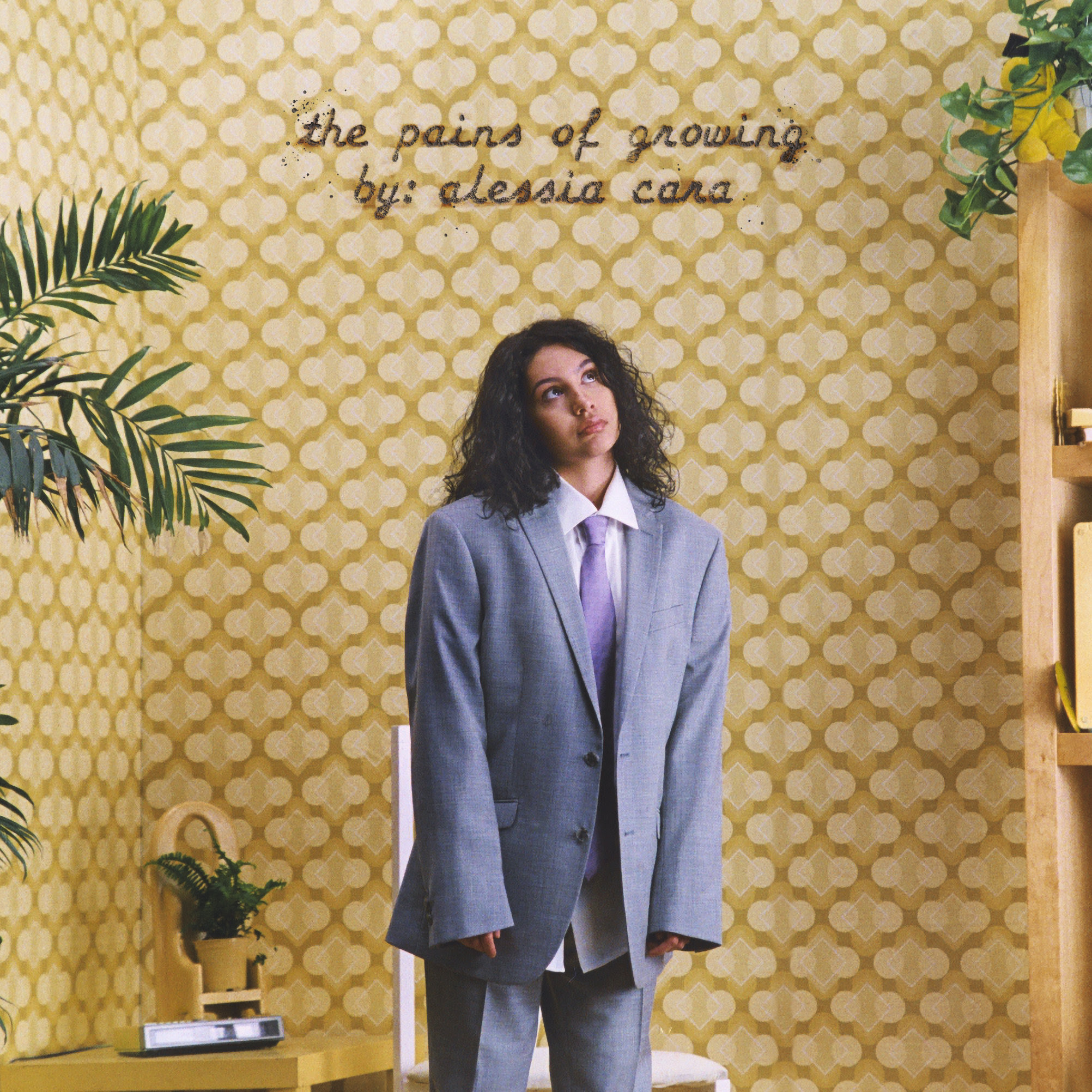 Album art for Alessia Cara's 'The Pains of Growing'. (Photo credit: Def Jam)