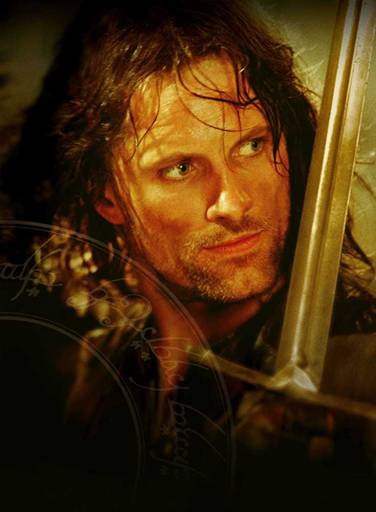 Viggo Mortensen as Aragorn in 'The Lord of the Rings: The Fellowship of the Ring'. (Source: IMDB)
