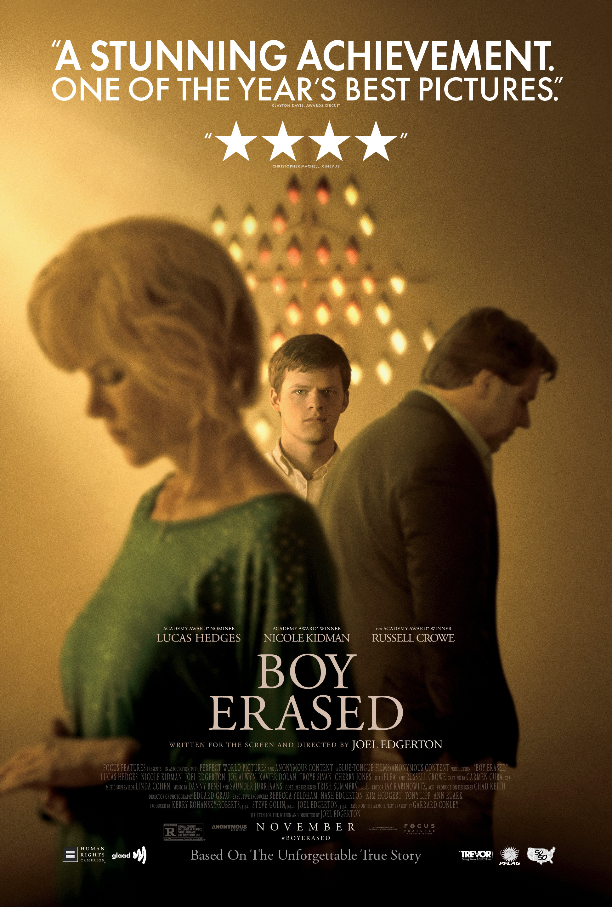 'Boy Erased' is based on Garrard Conley's 'Boy Erased: A Memoir of Identity, Faith, and Family'