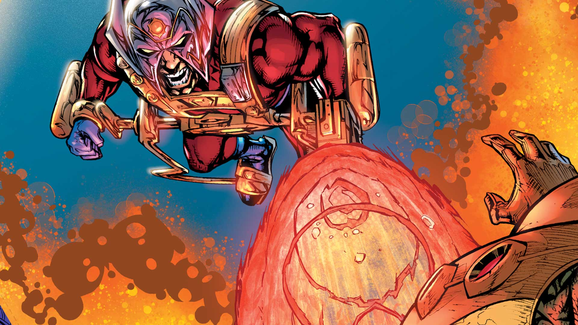 The New God Orion in Jack Kirby's 'New Gods' (Source: DC Comics)