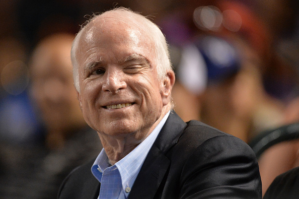 John McCain (Source: Getty Images)