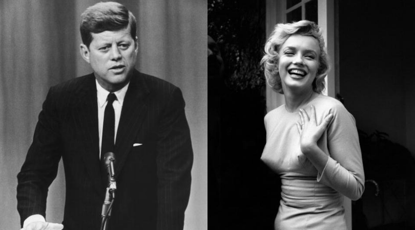 Did Marilyn really come in through a tunnel to meet JFK? (Getty Images)