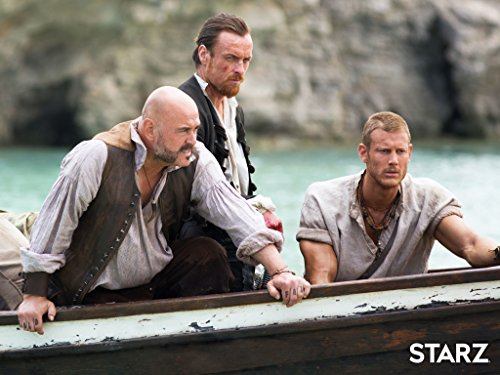 Mark Ryan, Toby Stephens, and Tom Hopper in Black Sails (2014), Image Courtesy: IMDB