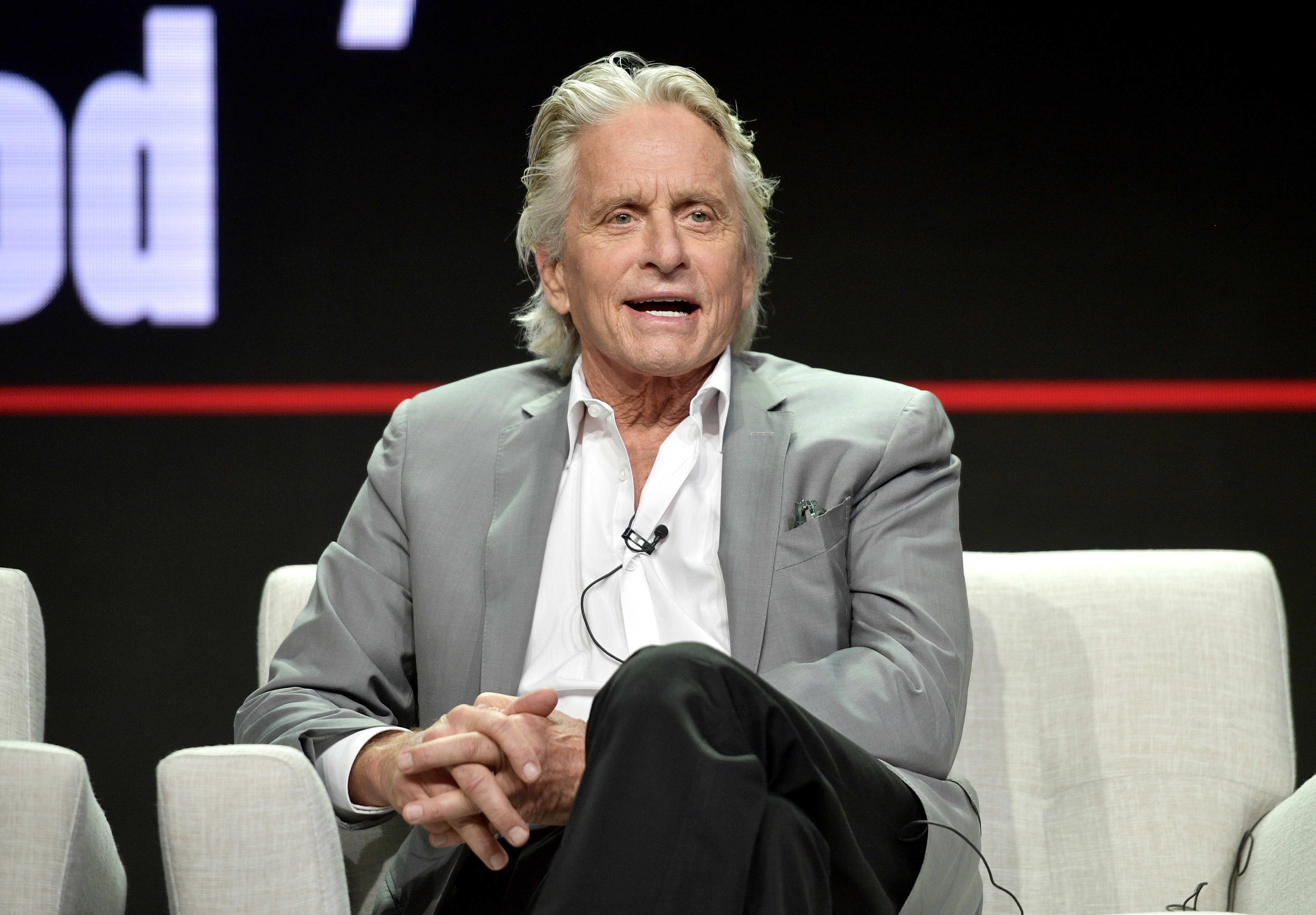 Michael Douglas of 'The Kominsky Method' speaks onstage during Netflix TCA 2018 at The Beverly Hilton Hotel on July 29, 2018 in Beverly Hills, California.