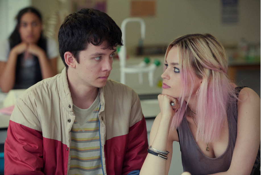 'Sex Education' sees a more realistic portrayal of teenage years than 'PEN15.' (Netflix)