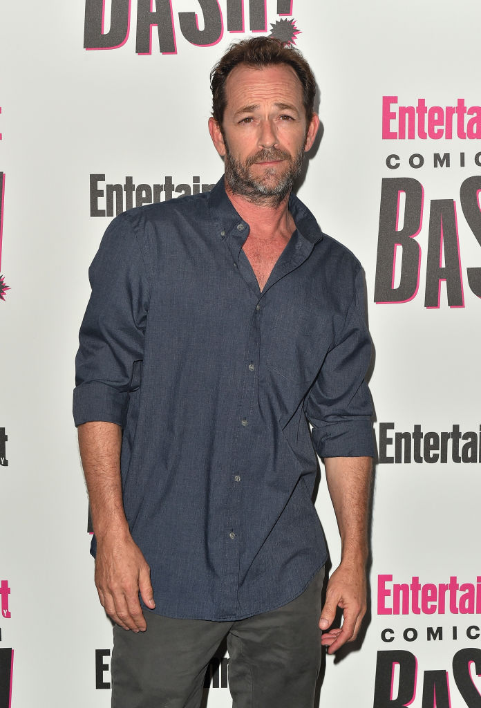 Luke Perry has been hospitalized following a stroke in his LA home (Source: Getty Images)
