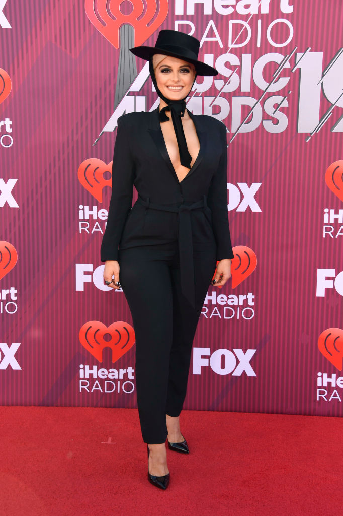 Bebe Rexha attends the 2019 iHeartRadio Music Awards which broadcasted live on FOX at Microsoft Theater on March 14, 2019 in Los Angeles, California. (Photo by Frazer Harrison/Getty Images)
