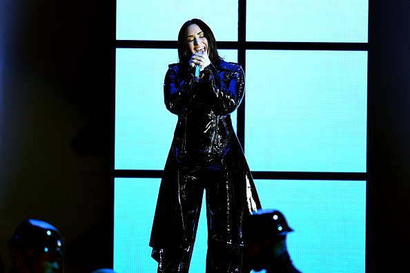 Demi Lovato has canceled her tour in the wake of her relapse. (Getty Images)
