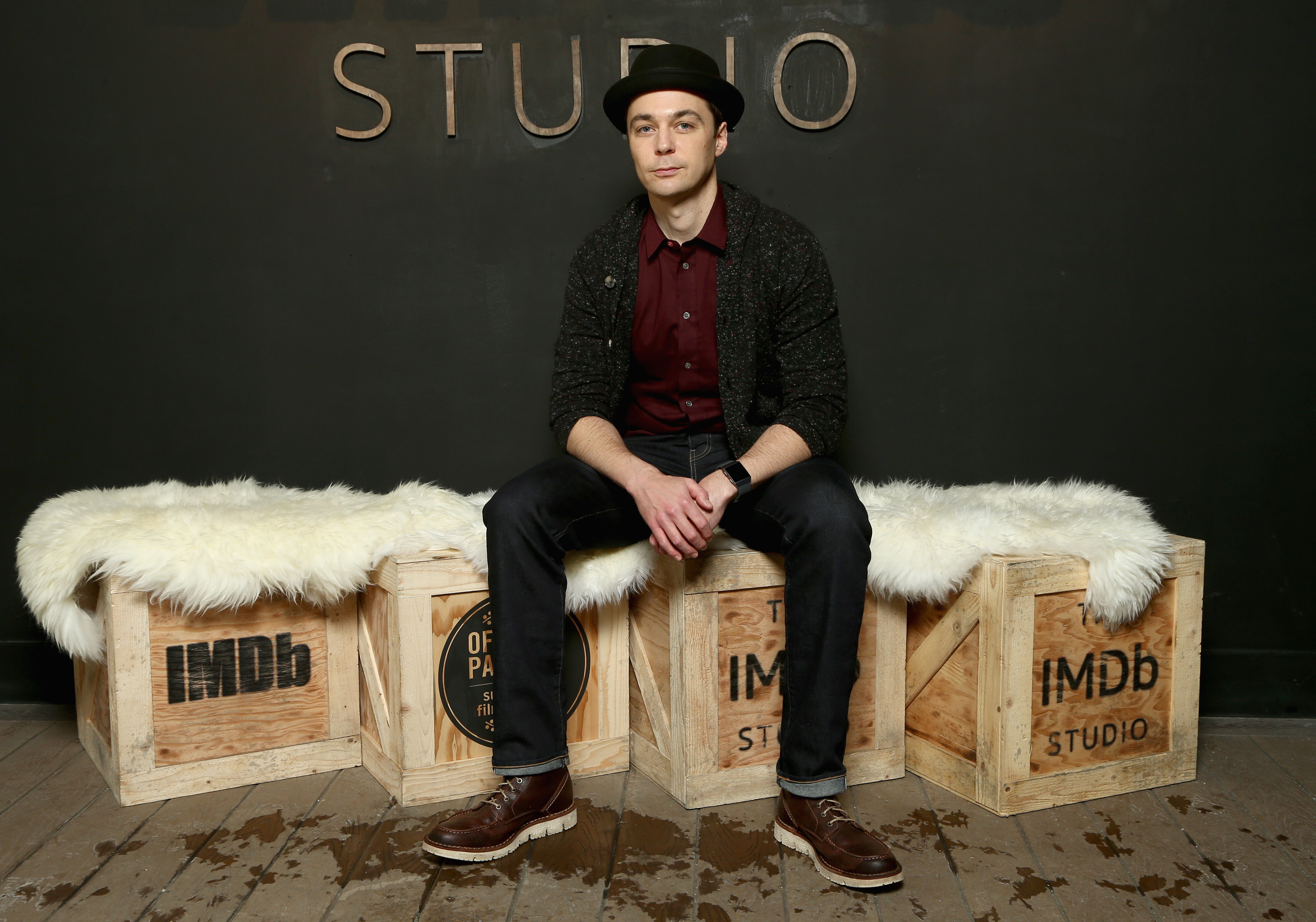 Actor Jim Parsons of 'A Kid Like Jake' attends The IMDb Studio and The IMDb Show on Location at The Sundance Film Festival on January 21, 2018 in Park City, Utah. (Photo by Tommaso Boddi/Getty Images for IMDb)