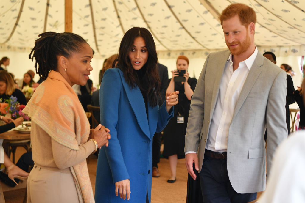 Moving to Frogmore would also allow Meghan's mother, Doria Ragland, who has recently moved to the UK following her daughter's pregnancy, to join the couple at home. (Source: Getty Images)