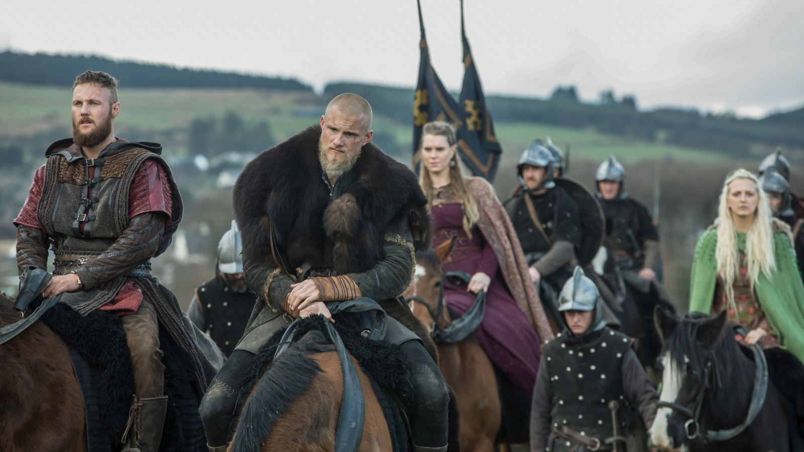 A still from 'Vikings' season 5