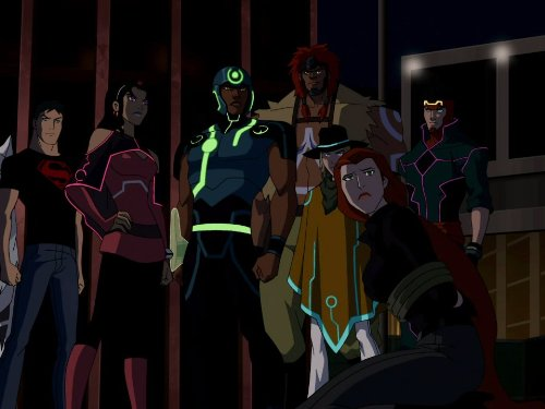 Superboy and the New Gods of New Genesis in 'Young Justice'. (Source: IMDB)