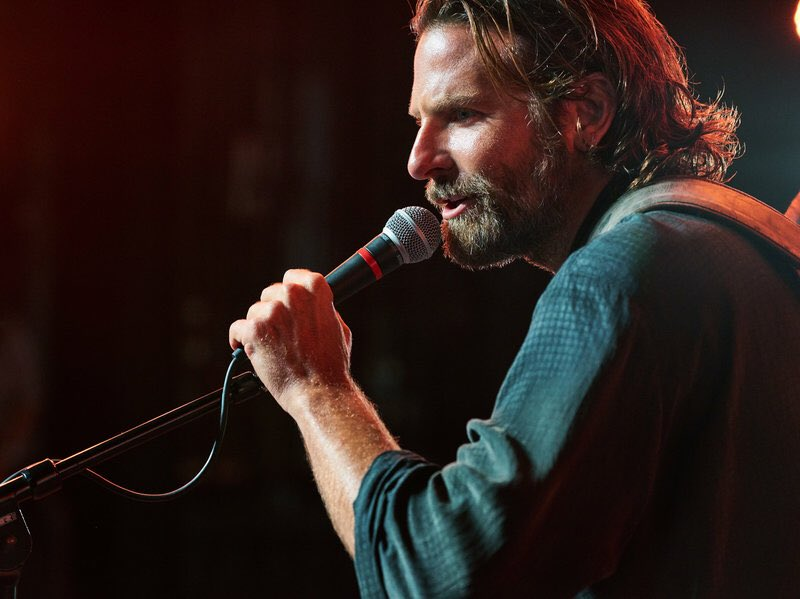 In 'A Star is Born' Cooper plays Jackson Maine, a famous country music singer privately battling an alcohol and drug addiction. (Twitter)