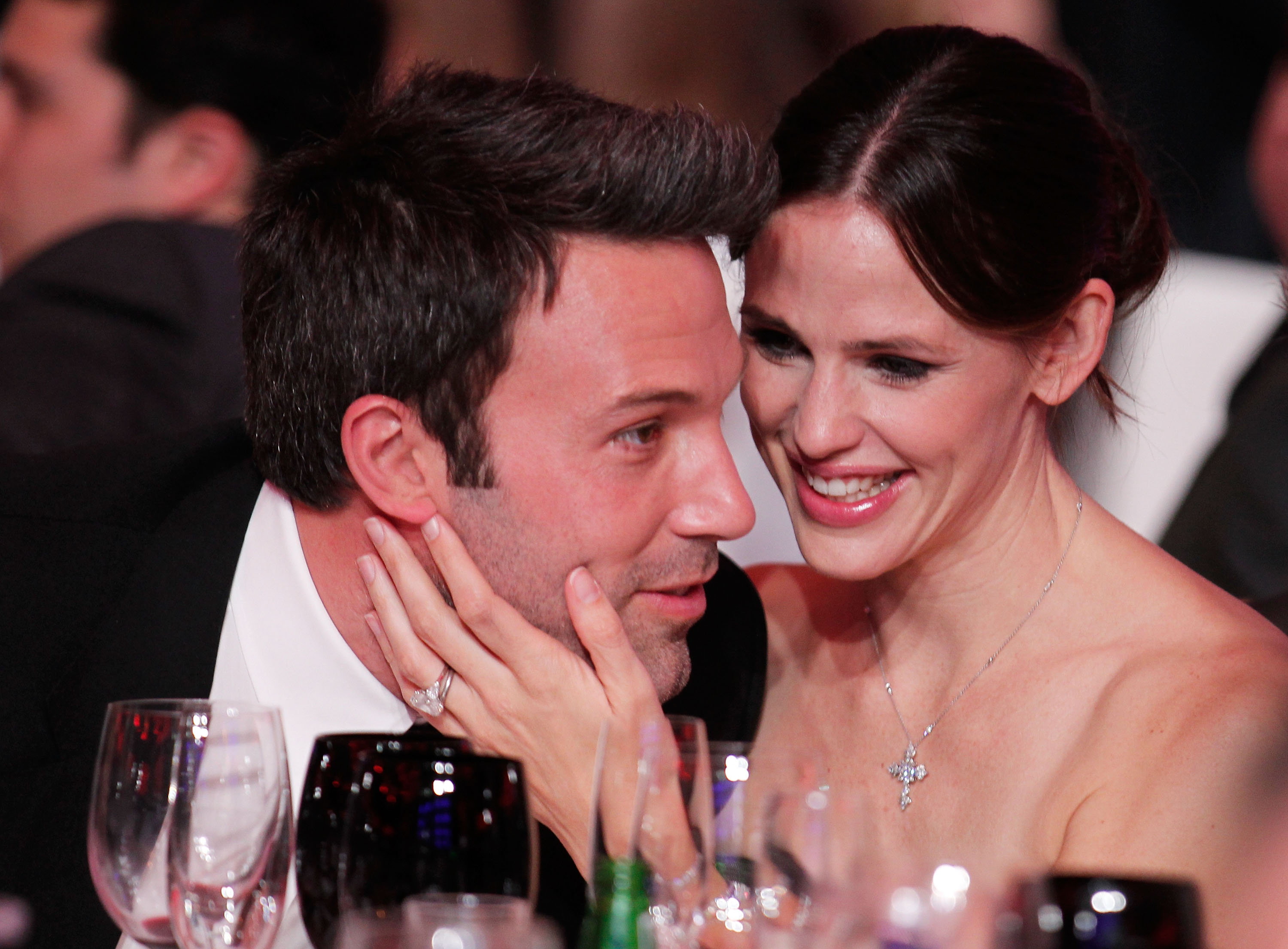 Actor Ben Affleck and actress Jennifer Garner at the 16th annual Critics' Choice Movie Awards at the Hollywood Palladium on January 14, 2011 in Los Angeles, California. (Source: Getty images)