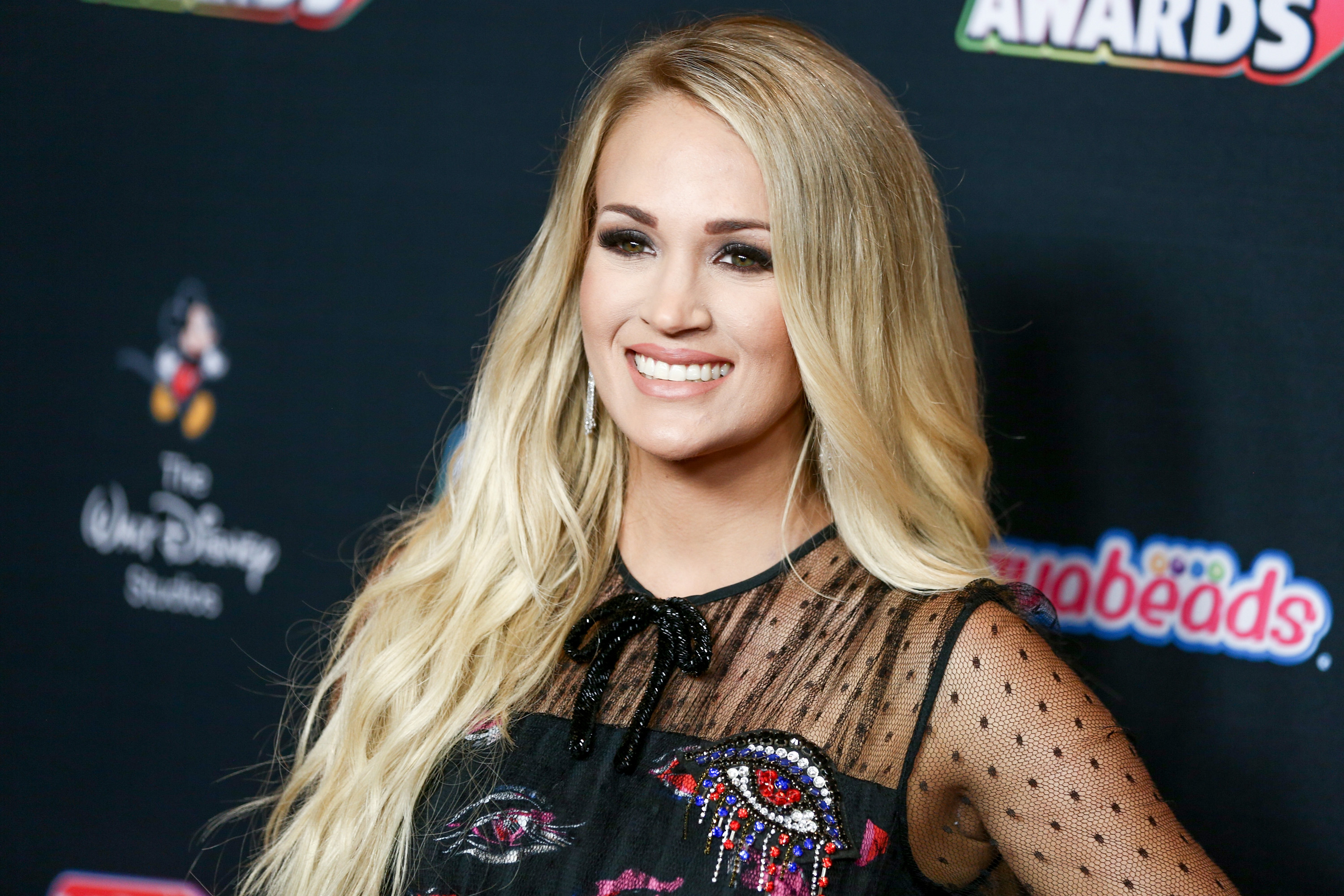 Carrie Underwood attends the 2018 Radio Disney Music Awards at Loews Hollywood Hotel on June 22, 2018 in Hollywood, California.