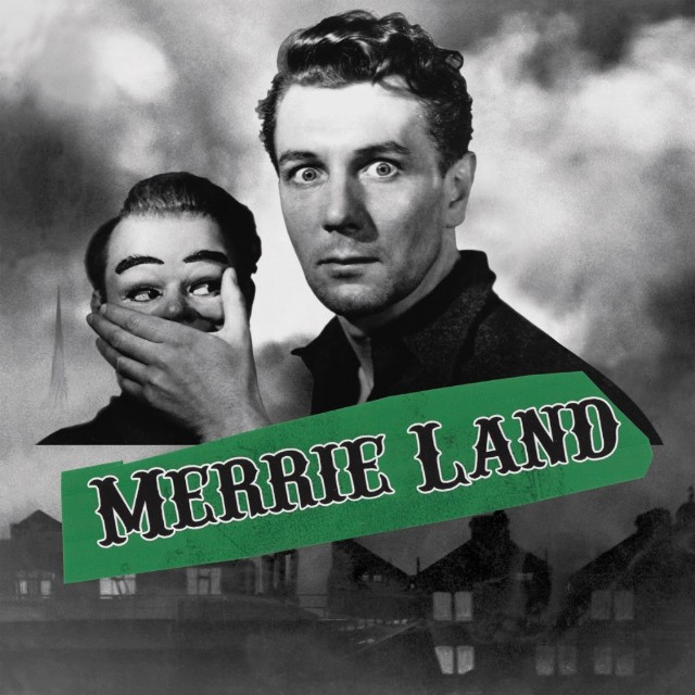 Album art for The Good, the Bad and the Queen's 'Merrie Land'