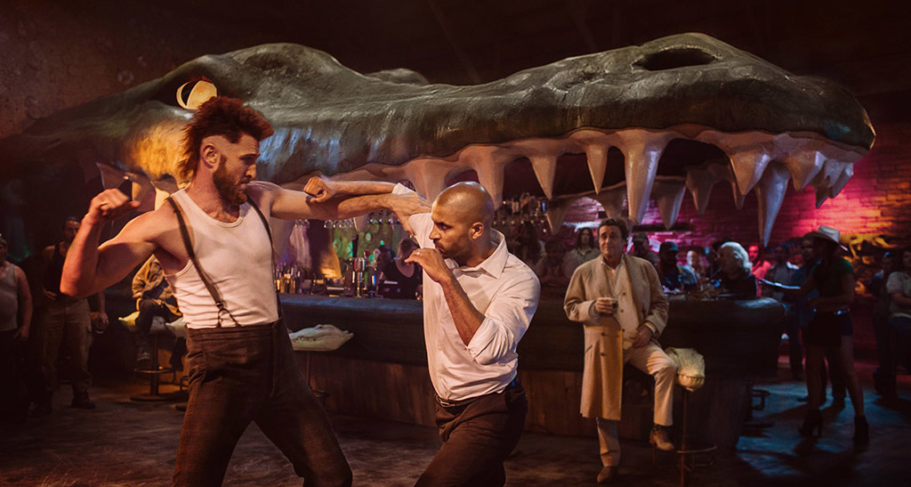 A still from American Gods season 1. The second season is set to premiere on March 10. (Source: Starz)