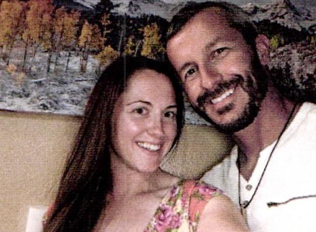 Nichol Kessinger and Chris Watts in one of the pictures that the authorities found in a hidden photo app on his phone (Source: Frederick Police Department)