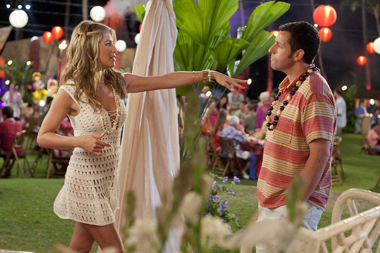Aniston and Sandler appeared together in 'Just Go With It' (Source: IMDb)