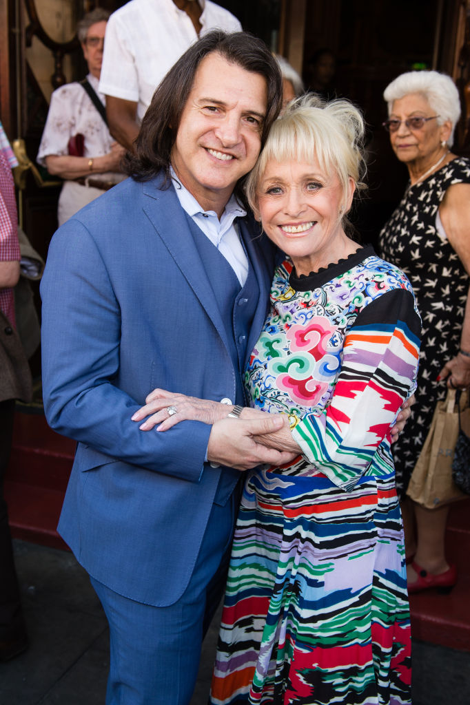 Scott Mitchell and Barbara Windsor (Source: Getty Images)